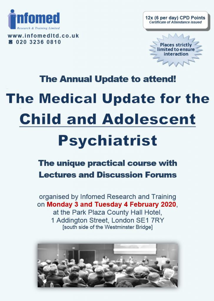 Medical Update for the Child and Adolescent Psychiatrist