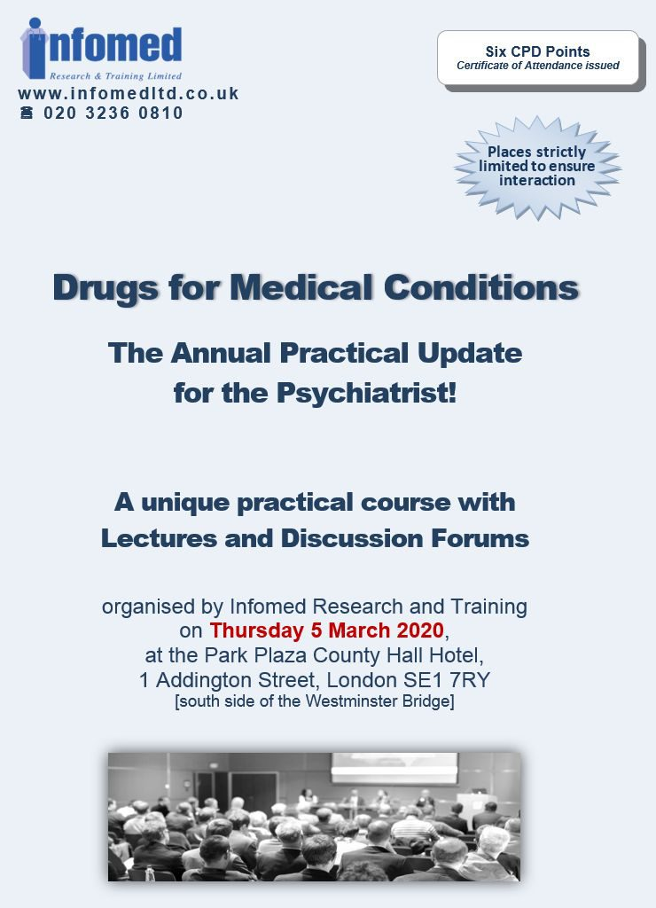 Drugs for Medical Conditions: The Annual Practical Update